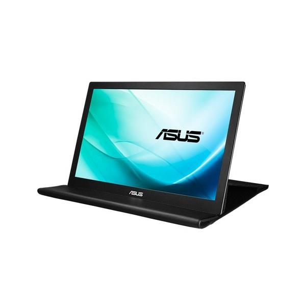 Asus 15,6 MB169B+ LED hordozható USB fekete-ezüst monitor - 2