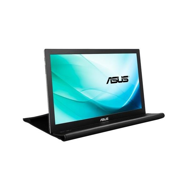 Asus 15,6 MB169B+ LED hordozható USB fekete-ezüst monitor - 3
