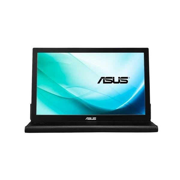Asus 15,6 MB169B+ LED hordozható USB fekete-ezüst monitor - 4