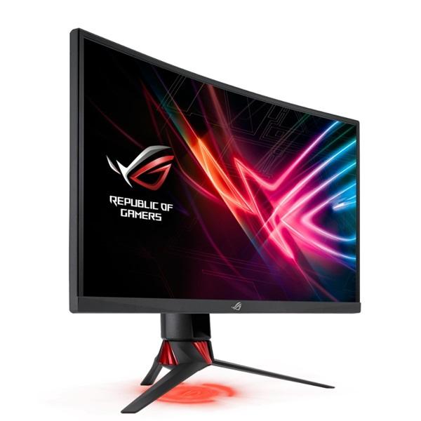 Asus 27 ROG STRIX XG27VQ LED 144Hz HDMI DVI DP FreeSync ívelt e-sport gamer monitor - 4
