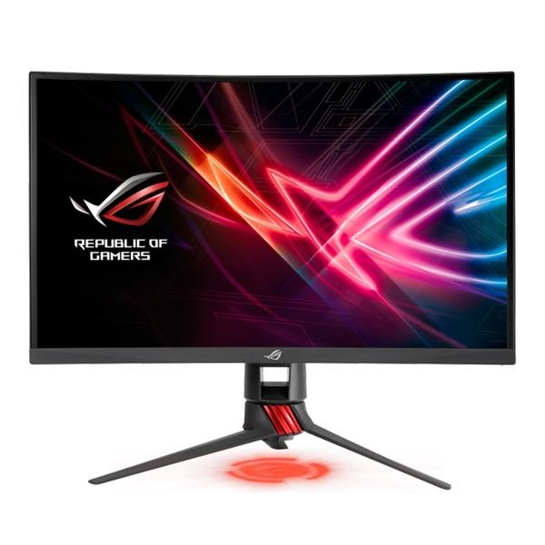 Asus 27 ROG STRIX XG27VQ LED 144Hz HDMI DVI DP FreeSync ívelt e-sport gamer monitor - 1