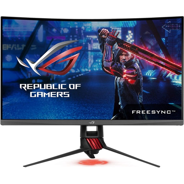 Asus 31,5 ROG STRIX XG32VQ WQHD LED 144Hz HDMI/DP FreeSync ívelt e-sport gamer monitor - 1