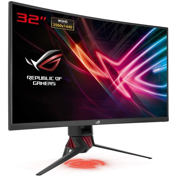 Asus 31,5 ROG STRIX XG32VQ WQHD LED 144Hz HDMI/DP FreeSync ívelt e-sport gamer monitor - 2