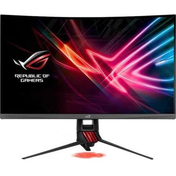 Asus 31,5 ROG STRIX XG32VQR WQHD LED 144Hz HDMI/DP HDR400 FreeSync ívelt gamer monitor - 1