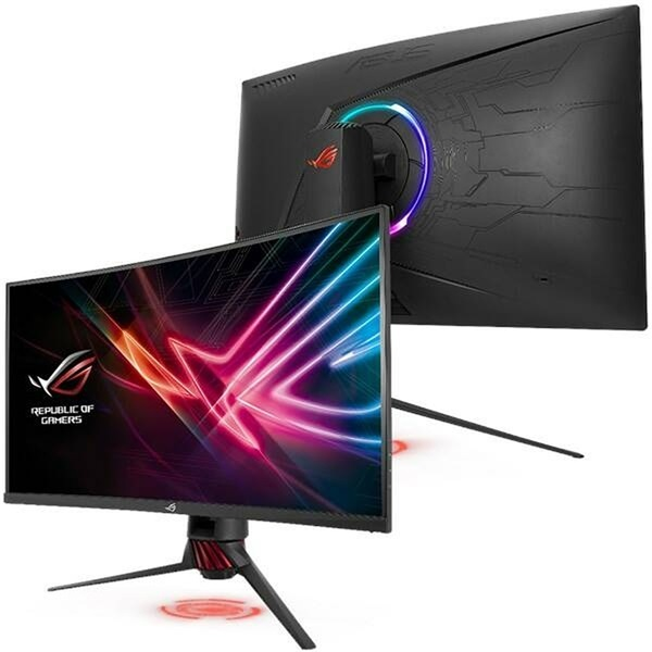 Asus 31,5 ROG STRIX XG32VQR WQHD LED 144Hz HDMI/DP HDR400 FreeSync ívelt gamer monitor - 4