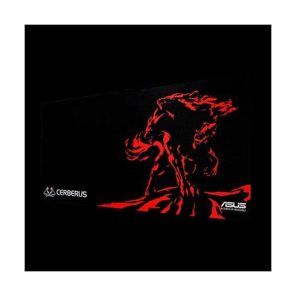 ASUS Cerberus Mat XXL piros gamer egérpad - 1