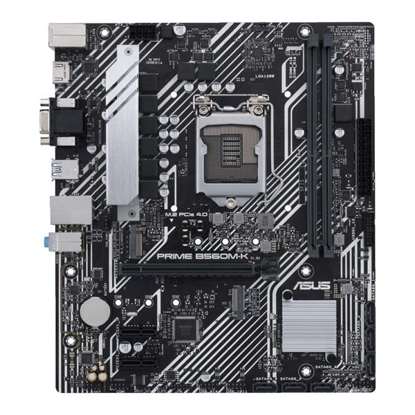 ASUS PRIME B560M-K Intel B560 LGA1200 mATX alaplap - 1