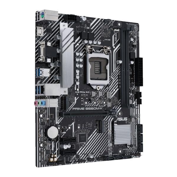 ASUS PRIME B560M-K Intel B560 LGA1200 mATX alaplap - 2
