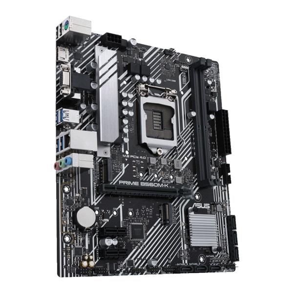 ASUS PRIME B560M-K Intel B560 LGA1200 mATX alaplap - 3