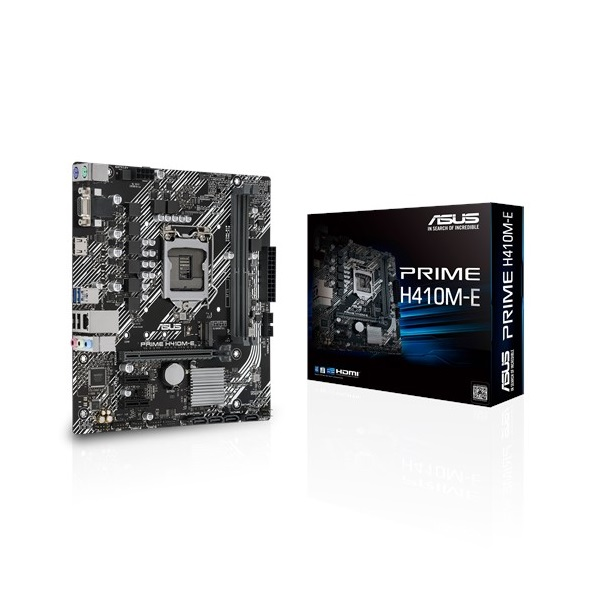 ASUS PRIME H410M-E Intel H410 LGA1200 mATX alaplap - 1