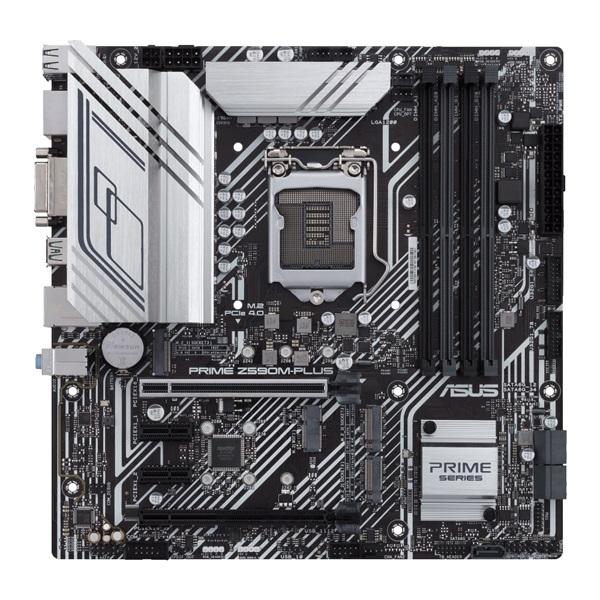 ASUS PRIME Z590M-PLUS Intel Z590 LGA1200 mATX alaplap - 1