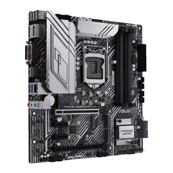 ASUS PRIME Z590M-PLUS Intel Z590 LGA1200 mATX alaplap - 2