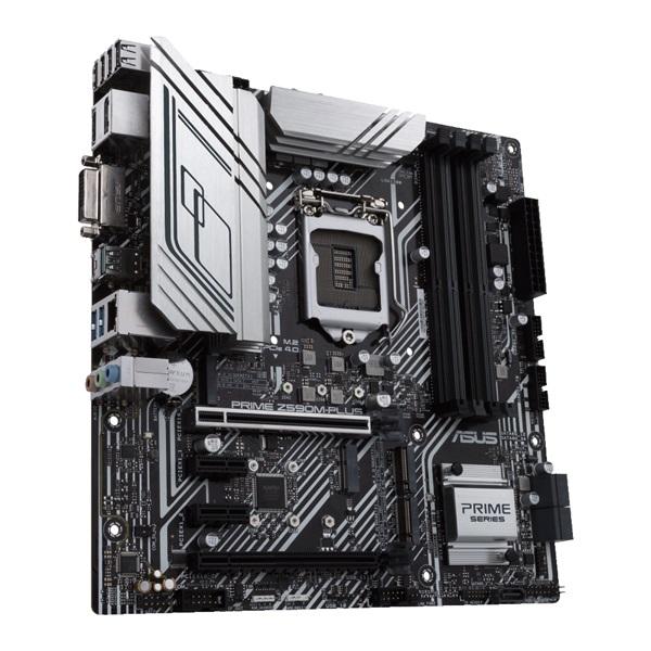 ASUS PRIME Z590M-PLUS Intel Z590 LGA1200 mATX alaplap - 3