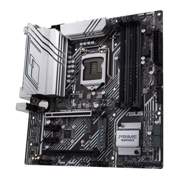 ASUS PRIME Z590M-PLUS Intel Z590 LGA1200 mATX alaplap - 4