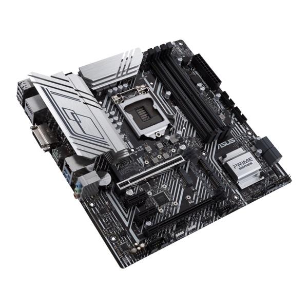 ASUS PRIME Z590M-PLUS Intel Z590 LGA1200 mATX alaplap - 5