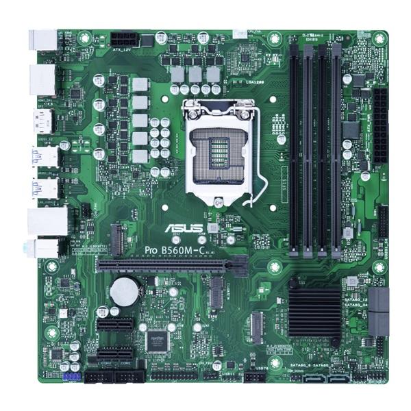 ASUS PRO B560M-C/CSM Intel B560 LGA1200 mATX alaplap - 1
