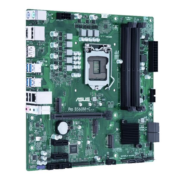 ASUS PRO B560M-C/CSM Intel B560 LGA1200 mATX alaplap - 2