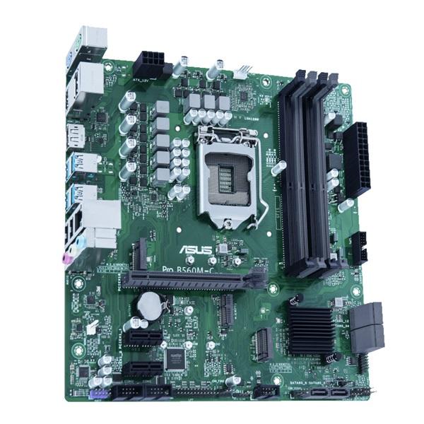 ASUS PRO B560M-C/CSM Intel B560 LGA1200 mATX alaplap - 4