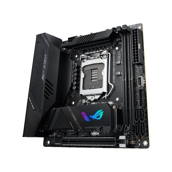 ASUS ROG STRIX Z590-I GAMING WIFI Intel Z590 LGA1200 mini-ITX alaplap - 3