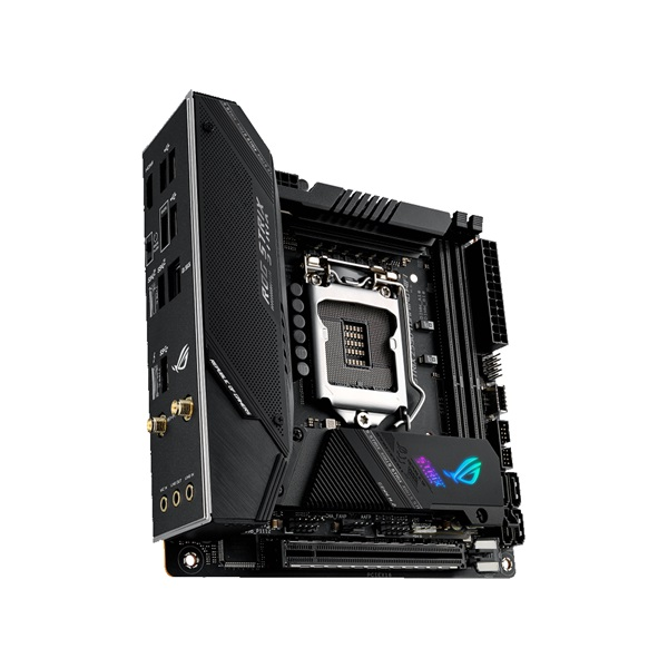 ASUS ROG STRIX Z590-I GAMING WIFI Intel Z590 LGA1200 mini-ITX alaplap - 4