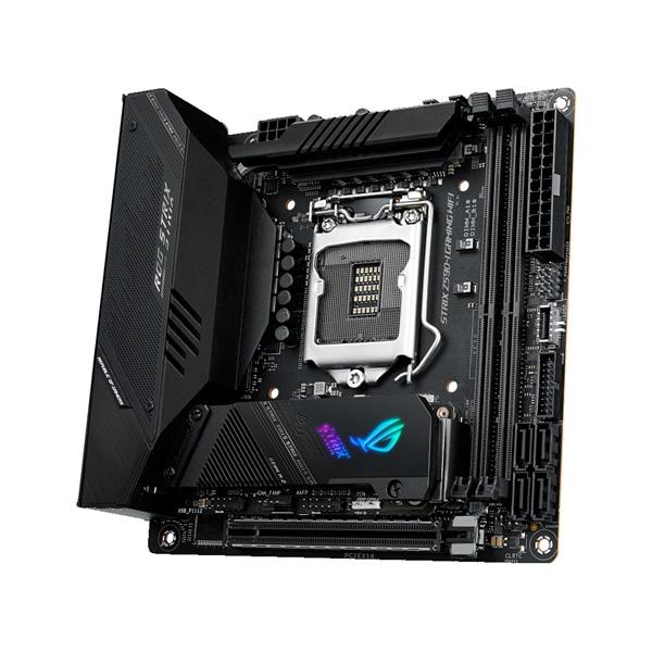 ASUS ROG STRIX Z590-I GAMING WIFI Intel Z590 LGA1200 mini-ITX alaplap - 7