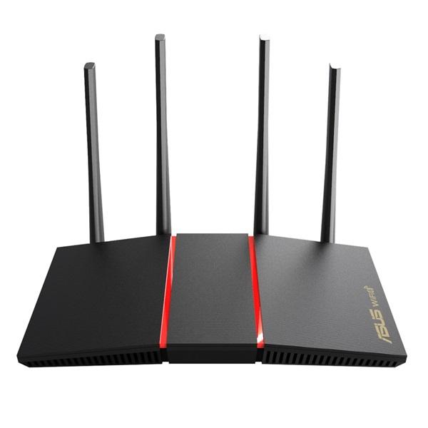 ASUS RT-AX55/EU/13/P_EU Vezeték nélküli 1800Mbps Router - 1