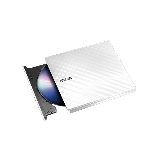 ASUS SDRW-08D2S-U LITE/WHITE USB dobozos fehér DVD író - 1