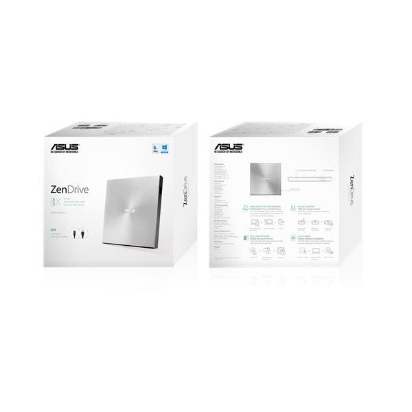 ASUS SDRW-08U9M-U/SIL/G/AS USB ezüst DVD író - 6