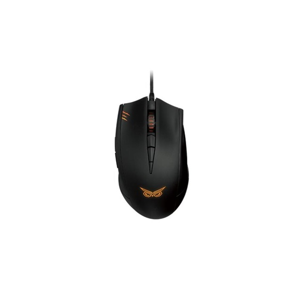 ASUS STRIX CLAW/DARK/UBO/AS fekete gamer egér - 1