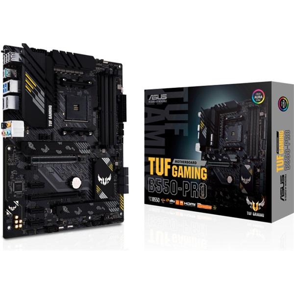 ASUS TUF GAMING B550-PRO AMD B550 SocketAM4 ATX alaplap - 1