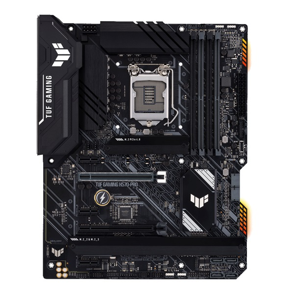 ASUS TUF GAMING H570-PRO Intel H570 LGA1200 ATX alaplap - 1