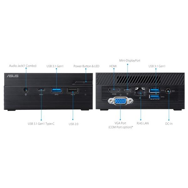 Asus VIVOMini  PN40 1B (PN40-BB015MV) Intel Barebone PC - 4