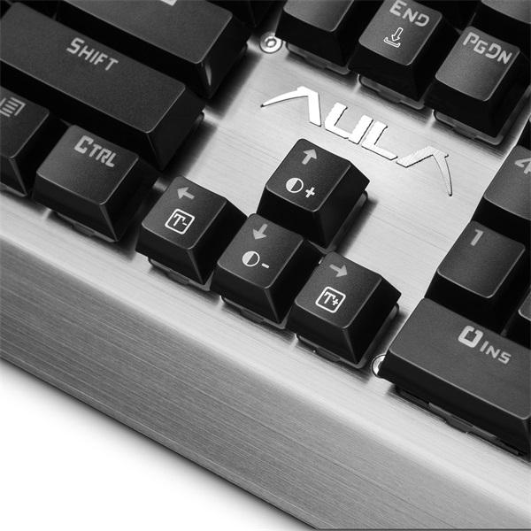 Aula Assault HUN fém világító mechanikus gamer billentyűzet - 9