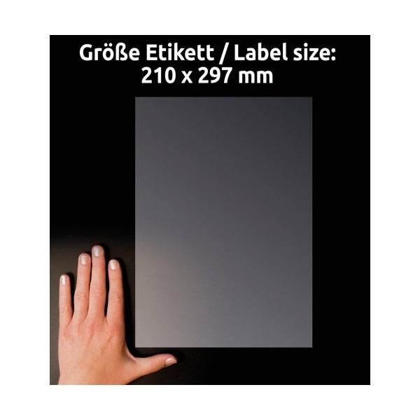 Avery L8011-10 antimikrobiális 210x297mm átlátszó fóliacímke - 3