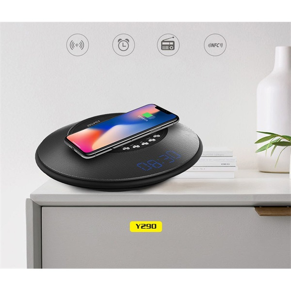AWEI Y290 Hordozható Bluetooth hangszóró/powerbank/vezetéknélküli telefontöltő - 2