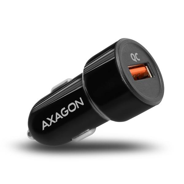 Axagon PWC-QC QC3.0 fekete autós töltő - 1