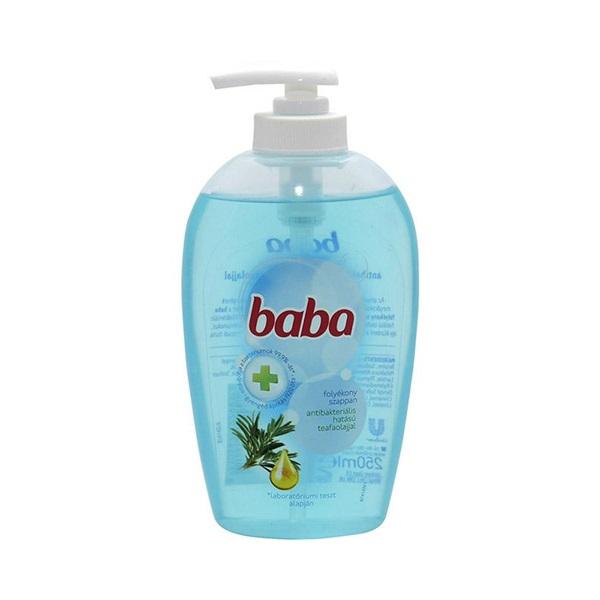 Baba 250 ml folyékony szappan antibakteriáli hatású teafaolajjal - 1