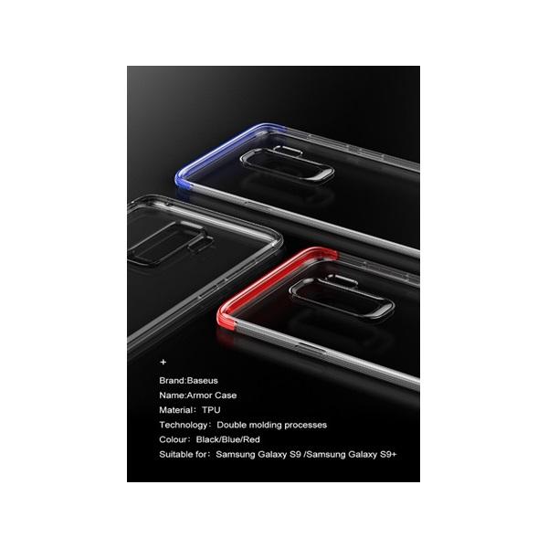 Baseus Armor Samsung S9 Plus fekete TPU tok - 2