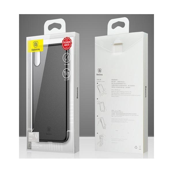 Baseus Wing iPhone X fehér-átlátszó tok - 1