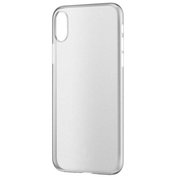 Baseus Wing iPhone X fehér-átlátszó tok - 2