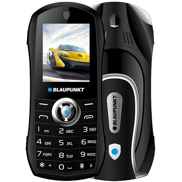 Blaupunkt Car 1,8 fekete mobiltelefon - 1
