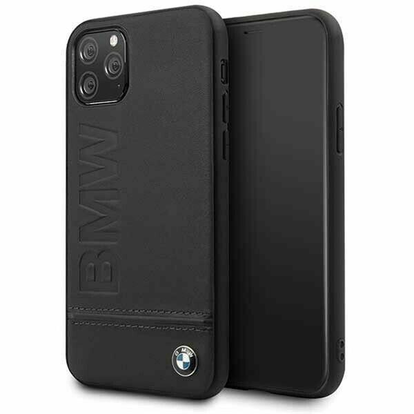 BMW Logo Imprint iPhone 11 Pro fekete keménytok - 1