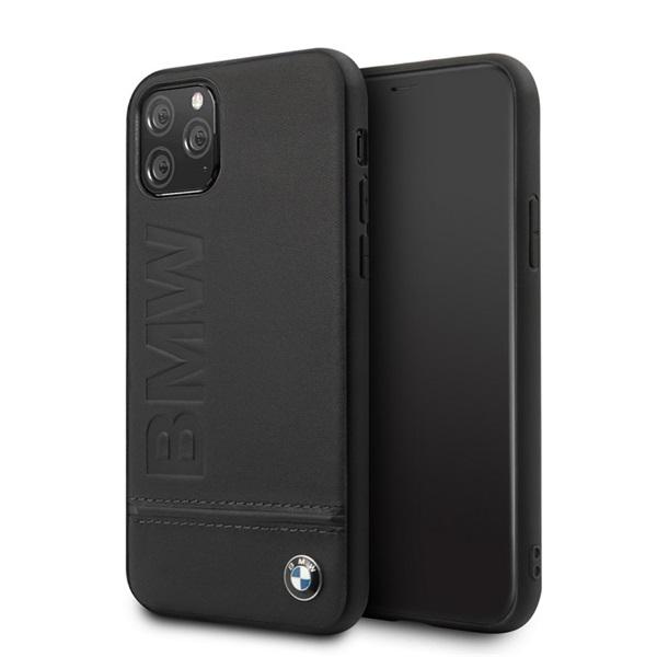 BMW Logo Imprint iPhone 11 Pro fekete keménytok - 3