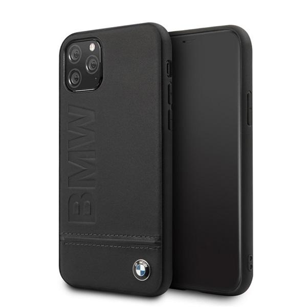 BMW Logo Imprint iPhone 11 Pro Max fekete keménytok - 3