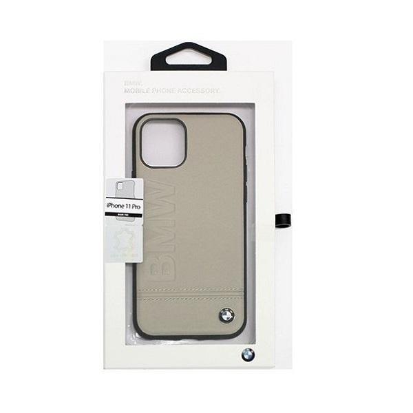 BMW Logo Imprint iPhone 11 Pro zsákszínű keménytok - 3