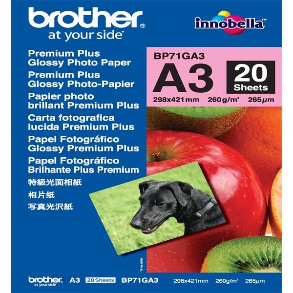 Brother BP71GA3 Fotópapír - 1