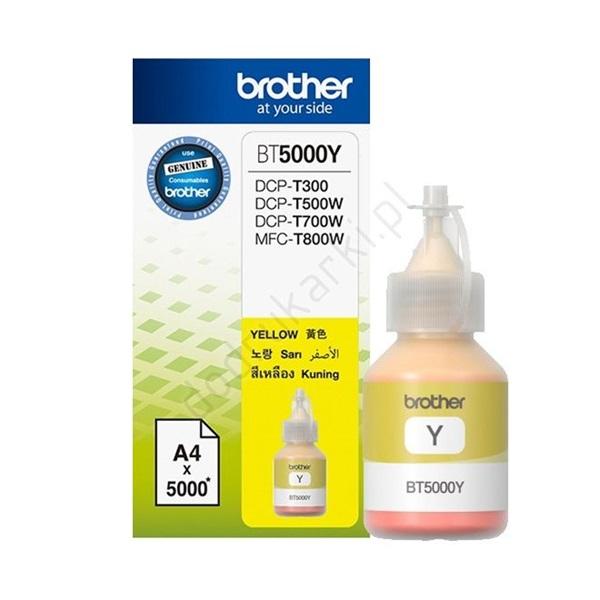 Brother BT5000Y sárga tintapatron - 1