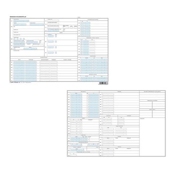 C.0243-41/F/TAS A4 fekvő munkaügyi nyilvántartó tasak - 1