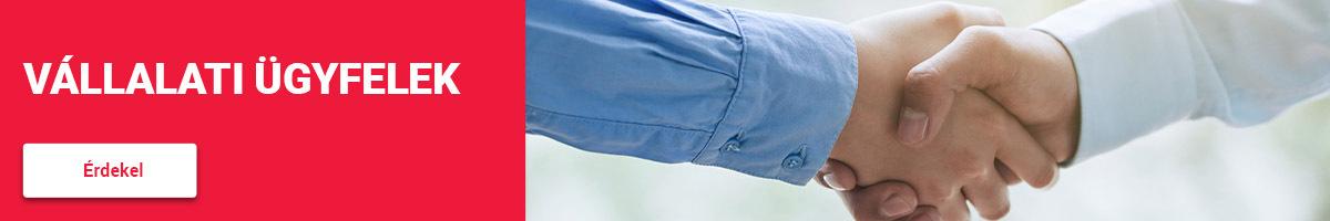 Főoldali csempe -Vállalati ügyfeleknek