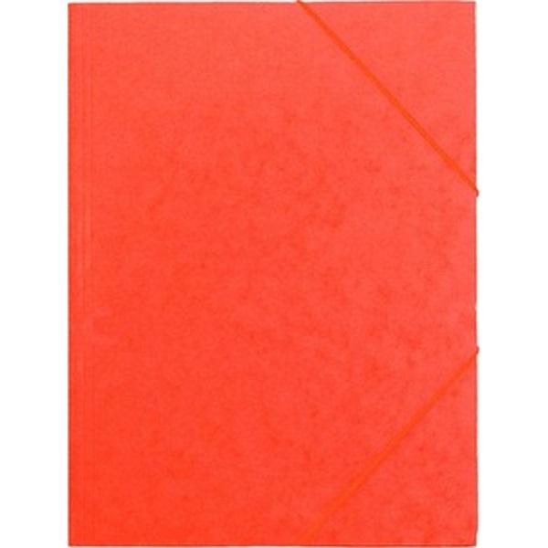 CAM A4 prespán narancssárga gumis mappa - 1